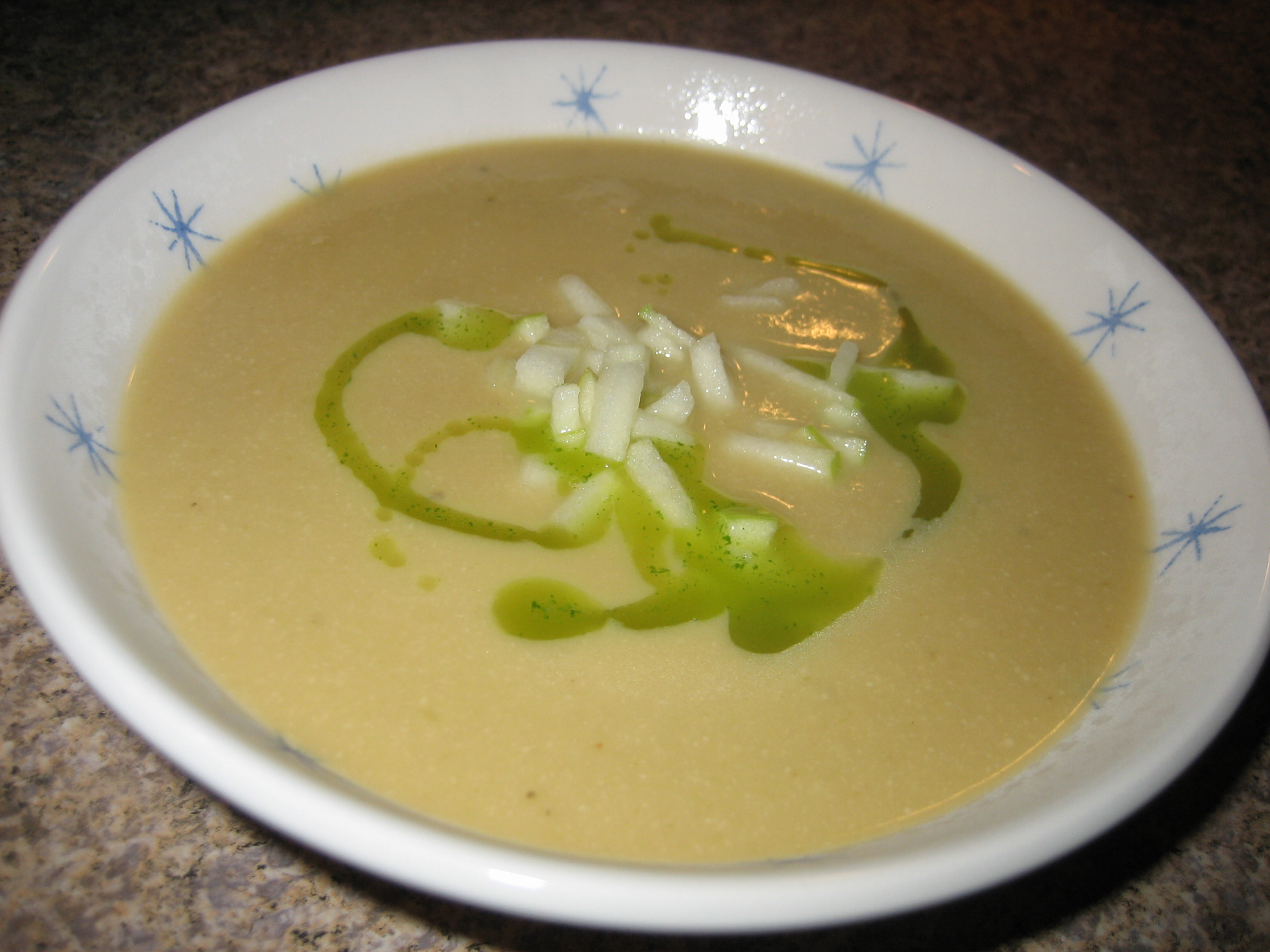 Celery Root Soup Recipe — Dishmaps